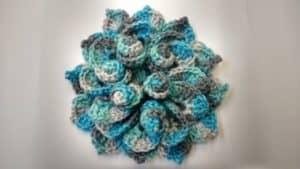 3D Crochet Flower | Unique Crochet Patterns