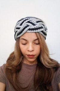 Crochet Braided Headband Pattern | Free and easy