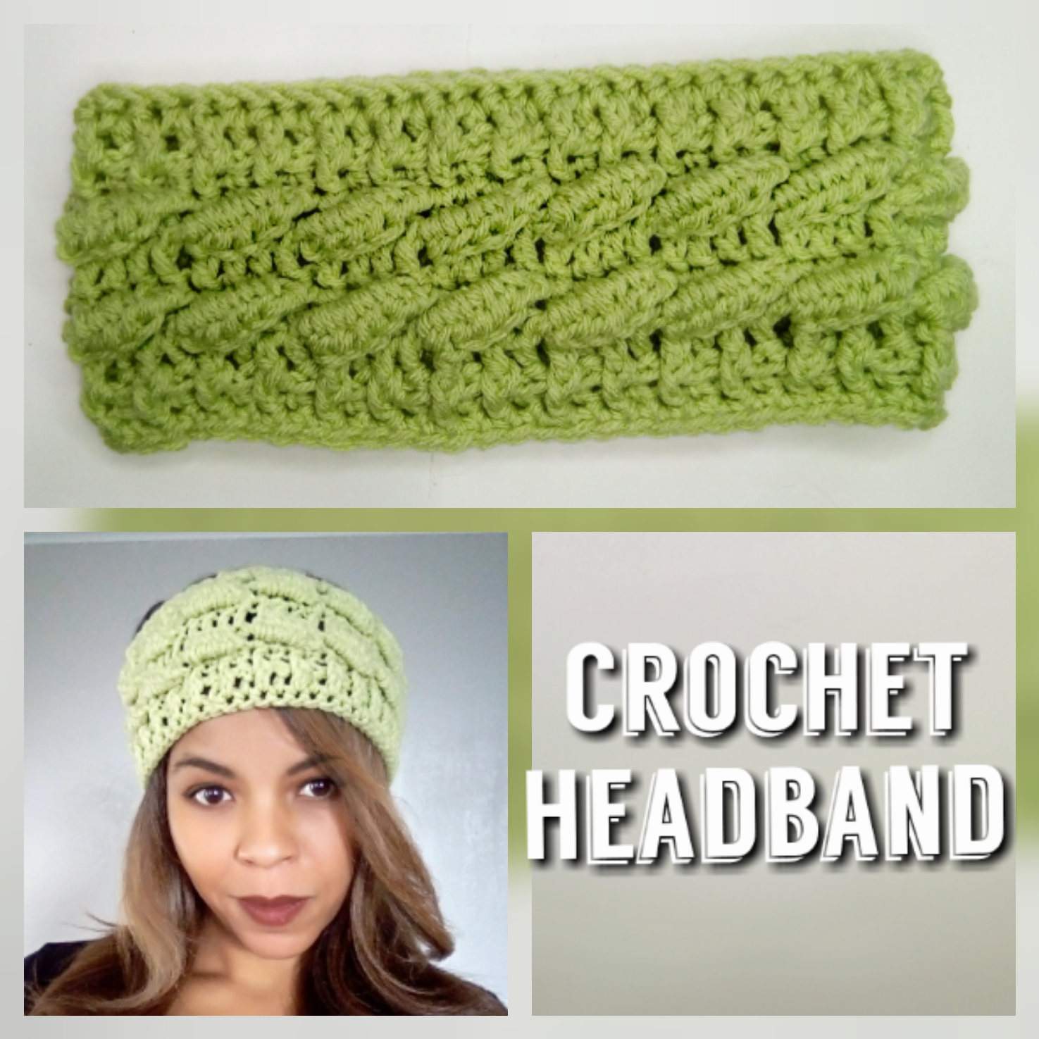 3d crochet headband tutorial littlejohns yarn baditri Image collections