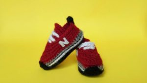 Crochet Baby Sneaker Pattern | Crochet Tennis Shoes