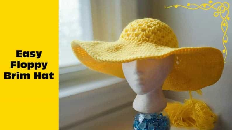 Free Crochet Sun Hat Pattern That's fit for Summer!
