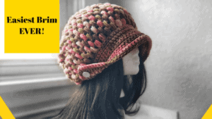 Adult Crochet Hat Pattern With Style!!! Puff Stitch Beanie