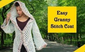 Easy crochet sweater coat pattern