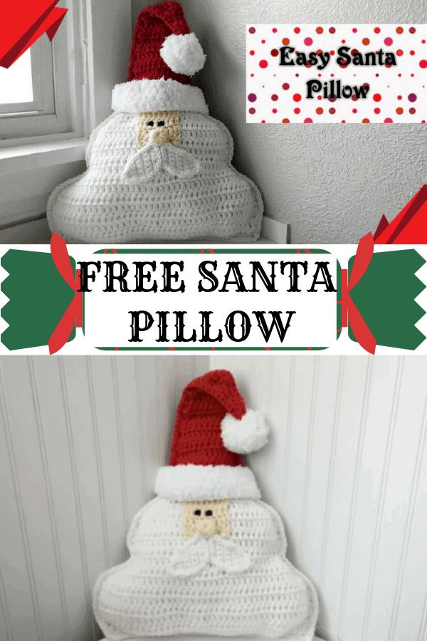 Free santa pillow pattern