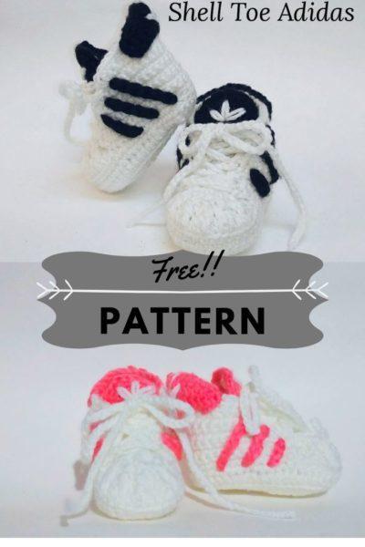 Free crochet Adidas pattern