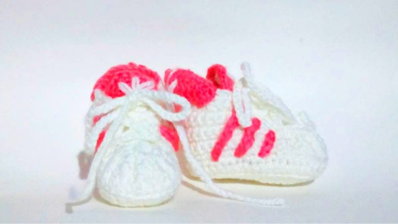 Free Crochet Adidas Pattern for Babies