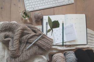 Start a crochet blog to make extra money!