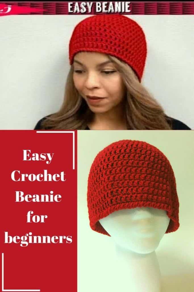 Easy Crochet Hat pattern For Beginners