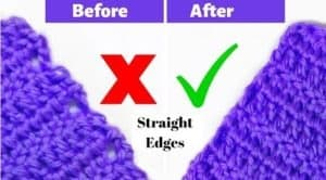 How to Crochet Straight Edges Every Time