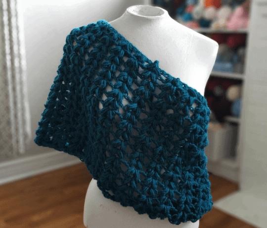 v-puff scarf