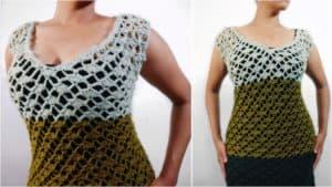Free Crochet Sweater Dress Pattern | The Dragon Dress