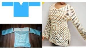 Crochet Pattern Design with Panels