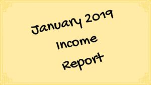 January 2020 Income Report