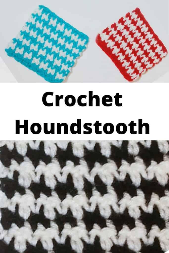 Easy Crochet Houndstooth Stitch