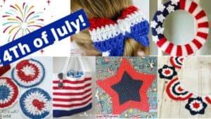 6 Festive Crochet 4th of July Patterns