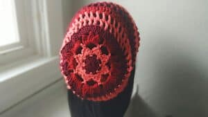 Floral Crochet Slouchy Hat   Free Pattern That's Stylish!