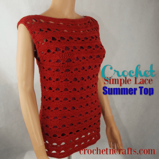 easy crochet summer tops