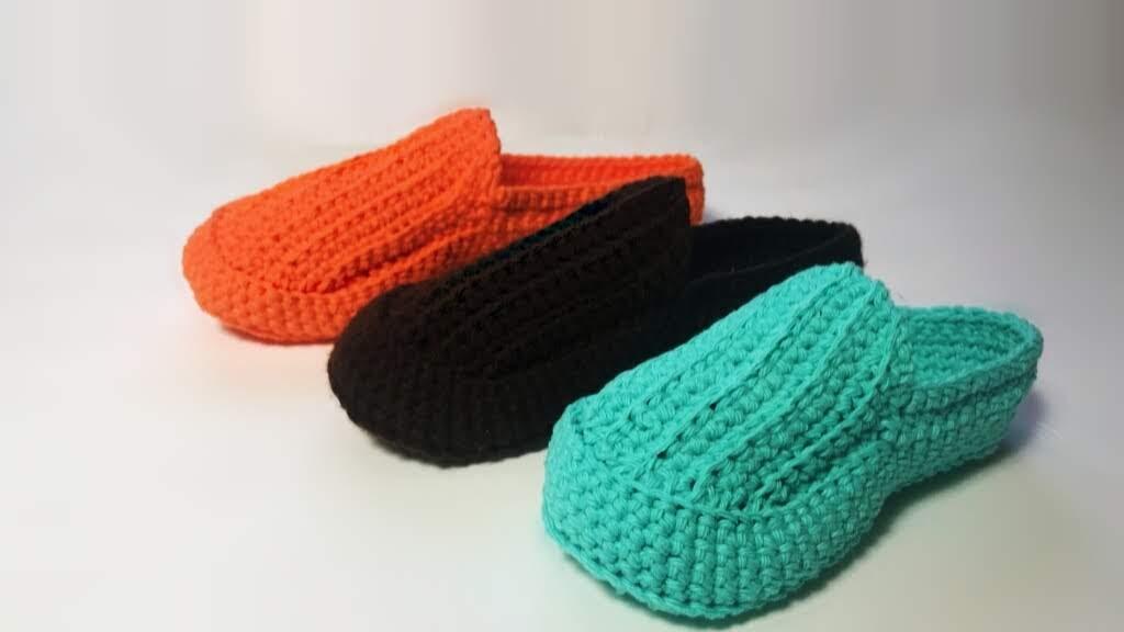 Classic Crochet Loafers | Free Pattern