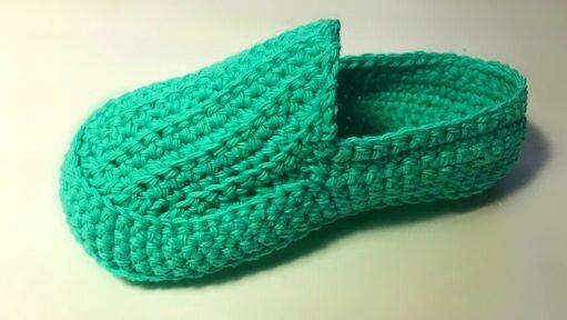 Crochet loafers free pattern